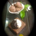 chocolat mi-cru mi cuit et sa glace chocolat maison