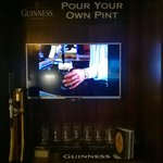 Pour your own pint in exec.lounge
