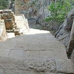 l'escalier de l'acropole
