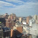 View from room 2104 over Hells Kitchen
