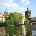 Prague depuis la Vltava