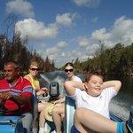 Катание на катере по озеру
