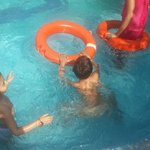 Baccha party in swimming pool
