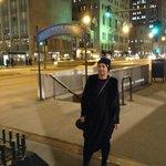 Ночной Michigan Ave