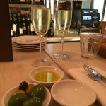 Bubbly and Olives