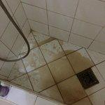 L'eau qui coule de la douche le matin !!