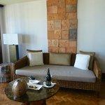 Lounge in one bedroom deluxe suite