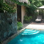 Private plunge pool in your own villa