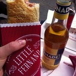 bionade litchi et hot dog simple