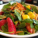 Salad with fruits