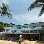 Отель. вид с моря