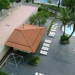around pool view