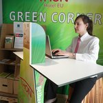 WE-bike: Create your green energy to charge your mobile phone, laptop, ... Think green, act gree