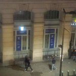 Hooligans loitering at night, hollering
