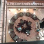 Top view of the dinning hall