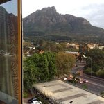 View from room at Newlands Southern Sun Hotel