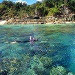 Snorkelling at Bali Hai