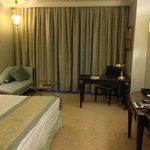 Bedroom was functional