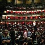 Royal Albert Hall в ожидании начала концерта
