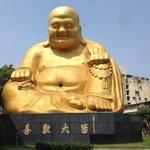 Enormous Buddha statue
