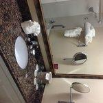 Nice bathroom counter top