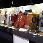 ac milan display at the museum