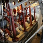 Dredger Engine room