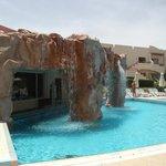 Pool on beach Side