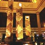 Coba lobby at night