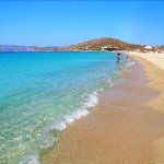 Agios Prokopios Beach, 30m from Sunset studios