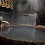 Open air private onsen