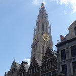 Onze lieve vrouwe kathedraal from grote markt