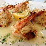 Shrimp stuffed w/ Crabmeat
