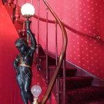 L'Egyptien dans l'escalier