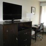 Comfy spacious room, big flat screen tv