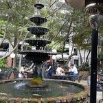 Patio Fountain Front Page News Midtown