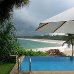 Blick von Suite 15...kurz vor einem Monsunregen