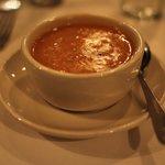 Navy bean soup at St. Elmo Steak House
