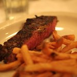 Rib eye at St. Elmo Steak House