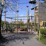 High ropes course for older children/adults