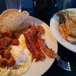 The diner breakfast special