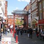Principale rue de Chinatown