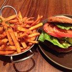 Quinoa Burger on Free Gluten Bread