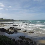 Coastal road to Nugget Point