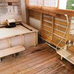 In-room onsen