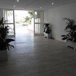 Ground floor pool lobby - looking good!