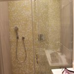 Beautiful Shower...very well kept bathroom.