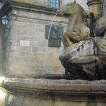 Fuente de los Caballos, Plaza de Platerías