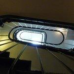 un des escaliers
