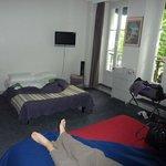 chambre 105 (4 personnes)
